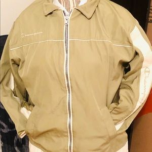 Champion lime green reversible jacket